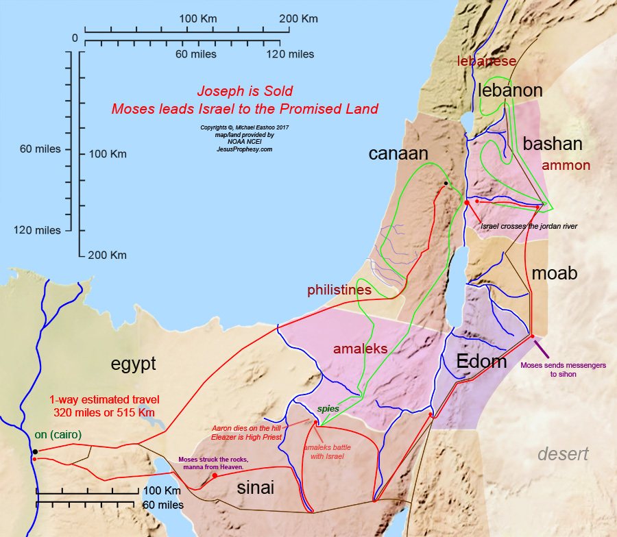 Maps esau israel joseph moses to jesus 2 maps for sale at link the promised land divided by the 12 families our saviors journey in their promised sciox Gallery